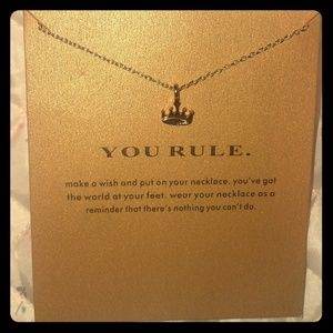Jewelry - You Rule Crown Necklace